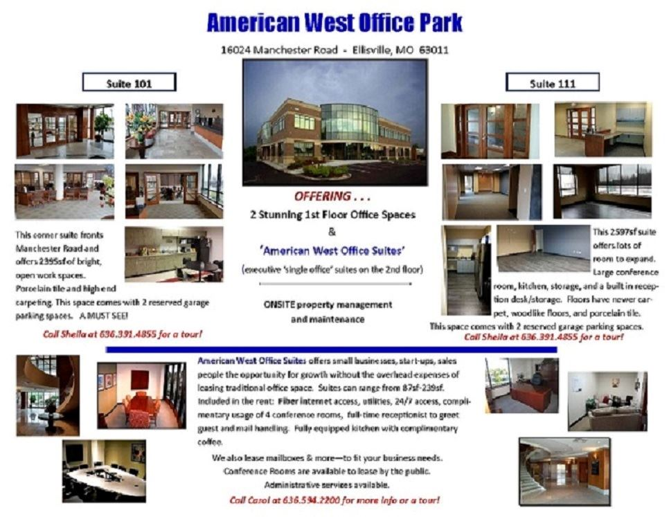 American West Office Park Brochure