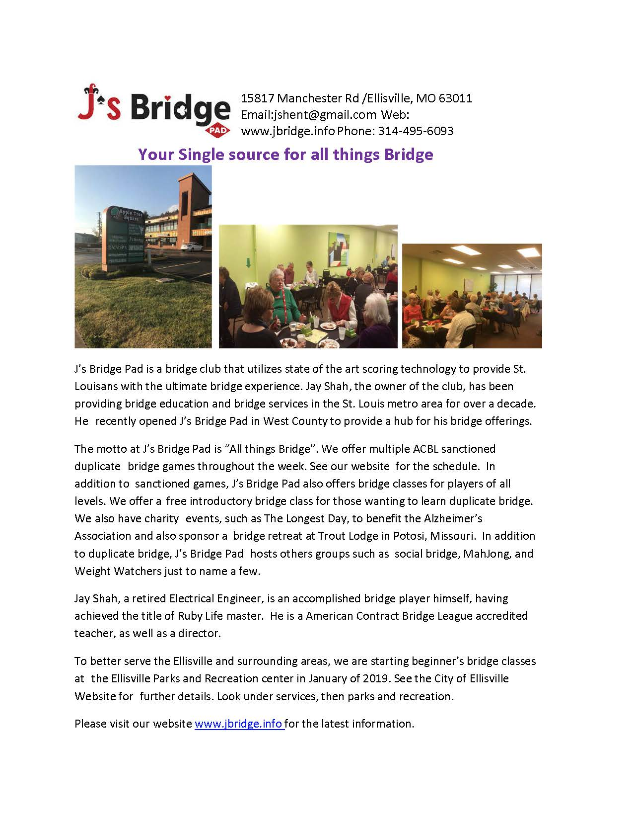 JS Bridge Brochure