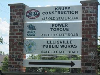 Public Works Sign